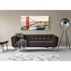 Wall art print and canvas. Pierre Benson, Golden Gate View