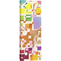 Wall art print and canvas. Leonardo Bacci, Multicolor Pattern V