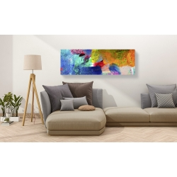 Wall art print and canvas. Dansop, Painted Thought II