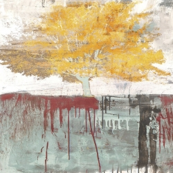Quadro, stampa su tela. Alex Blanco, Sign of a Tree