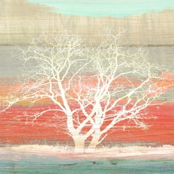 Wall art print and canvas. Alessio Aprile, Treescape #1 (Subdued, detail)