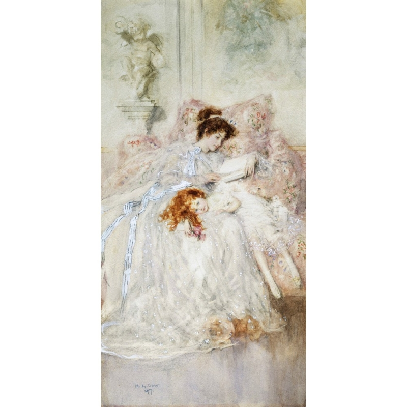 Cuadro en canvas. Mary Louise Gow, Precious Moments