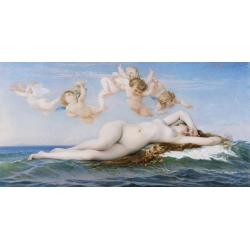 Wall art print and canvas. Alexandre Cabanel, The Birth of Venus