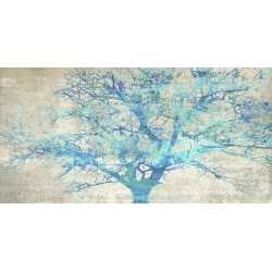 Wall art print and canvas. Alessio Aprile, Turquoise Tree