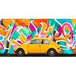 Cuadro de coches en canvas. Gasoline Images, Iconic street art I