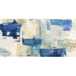 Wall art print and canvas. Anne Munson, Rhapsody in Blue
