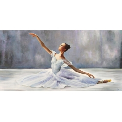 Wall art print and canvas. Pierre Benson, Ballerina