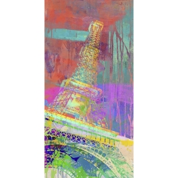 Wall art print and canvas. Eric Chestier, The Tower 2.0