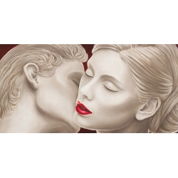 Wall art print and canvas. Eleanor Setti, Eternal Lovers