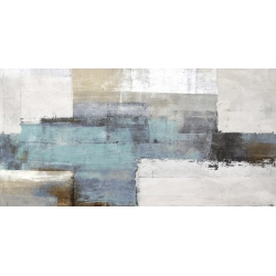 Wall art print and canvas. Ruggero Falcone, Endless Sea