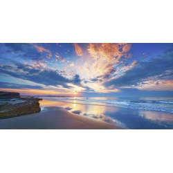 Wall art print and canvas. Krahmer, Playa As Catedrais, Spain