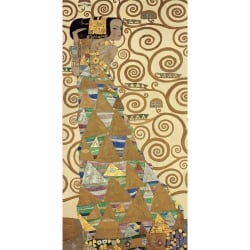 Wall art print and canvas. Gustav Klimt, The Tree of Life I