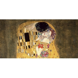 Wall art print and canvas. Gustav Klimt, The Kiss