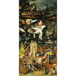 Wall art print and canvas. Hieronymus Bosch, The Garden of Earthly Delights III
