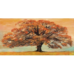 Wall art print and canvas. Jan Eelder, Oak