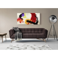 Wall art print and canvas. Chaz Olin, Ka-Boom