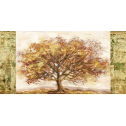 Cuadro árbol en canvas. Lucas, Golden Tree Panel