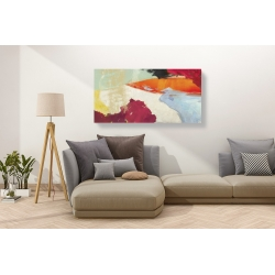 Wall art print and canvas. Chaz Olin, Sha-Zaam