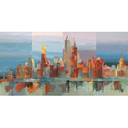 Wall art print and canvas. Luigi Florio, Abbsract New York