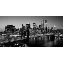Wall art print and canvas. Berenholtz, Brooklyn Bridge, New York