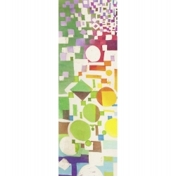 Wall art print and canvas. Leonardo Bacci, Multicolor Pattern II