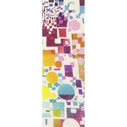 Wall art print and canvas. Leonardo Bacci, Multicolor Pattern III