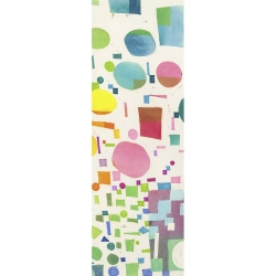 Wall art print and canvas. Leonardo Bacci, Multicolor Pattern IV