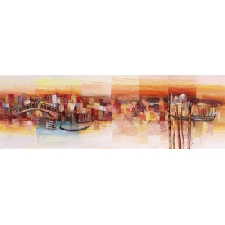 Wall art print and canvas. Luigi Florio, Dreaming of Venice