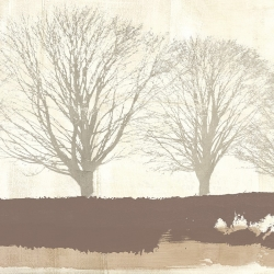 Wall art print and canvas. Alessio Aprile, Tree Lines Neutral
