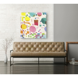 Wall art print and canvas. Leonardo Bacci, Glam Slam I