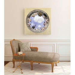Wall art print and canvas. Andrea Mantegna, Bridal Chamber