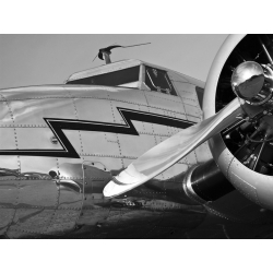 Tableau sur toile. Wisconsin Studio, Vintage Aircraft Close-Up