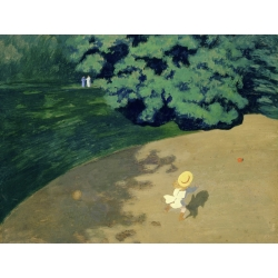 Wall art print and canvas. Felix Vallotton, The Ball