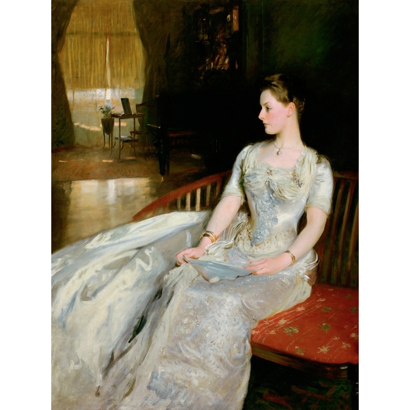 Wall art print and canvas. John Singer Sargent, Mrs. Cecil Wade