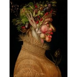 Wall art print and canvas. Giuseppe Arcimboldo, Summer