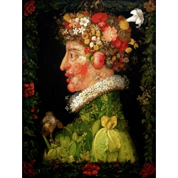 Wall art print and canvas. Giuseppe Arcimboldo, Spring