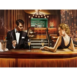 Wall art print and canvas. Pierre Benson, A Grand Night Out