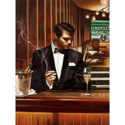 Wall art print and canvas. Pierre Benson, Night Out I
