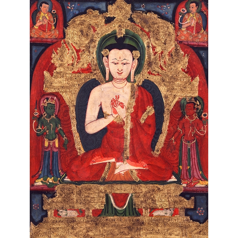 Wall art print and canvas. Buddha Vairocana
