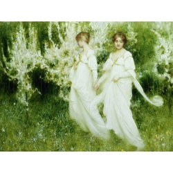 Wall art print and canvas. Arthur Hacker, Innocence