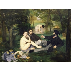 Wall art print and canvas. Edouard Manet, Le déjeuner sur l'herbe