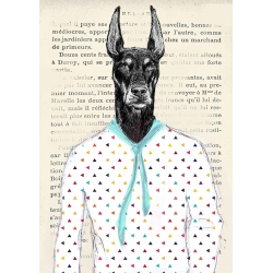 Wall art print and canvas. Matt Spencer, Modern Dandy