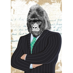Wall art print and canvas. Matt Spencer, Distinguished Boss