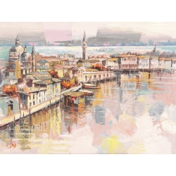Wall art print and canvas. Luigi Florio, Sweet Venice