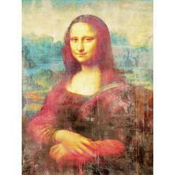 Wall art print and canvas. Eric Chestier, Mona Lisa 2.0