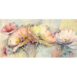 Wall art print and canvas. Luigi Florio, Flowers in spring