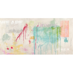 Abstract Wall Art Print and Canvas. We are Dreams