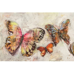 Wall Art Print and Canvas. Butterflies II