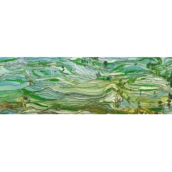 Wall Art Print, Canvas. Landscape Photo. Rice fields and terraces