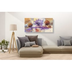 Wall art print and canvas. Luigi Florio, Wind in the Trees